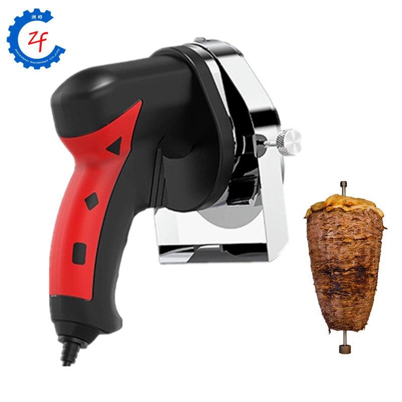 سكين تقطيع دونر كباب كهربائي للاستخدام التجاري أو المنزلي ، قاطعة شاورما ، أداة تقطيع اللحم للمطبخ