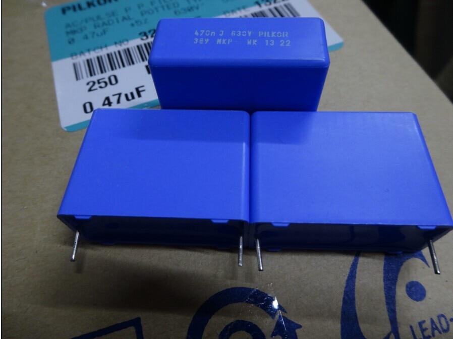 20PCS NEUE BC PILKOR MKP389 0,47 uf/630 v P27.5MM blau film kondensator VISHAY 474/630V mkp 389 470nf 474 630v 0,47 uf