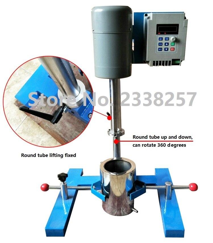 FS-400D Inverter High-speed Dispergieren Maschine Farbe Beschichtung Labor Rühren Sand Mühle Schleifen Maschine