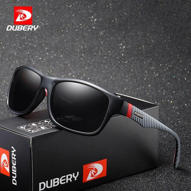 DUBERY, gafas de sol Vintage polarizadas para hombre, gafas de sol para hombre con protección UV400, gafas negras de verano para hombre, 8 colores, modelo 732