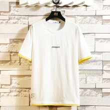BQODQO 2019 T Shirt Men's Cotton Plus Size Tshirt O-neck Summer T-shirt Running Causal Tshirts Fashion Comfortable Loose Trendy