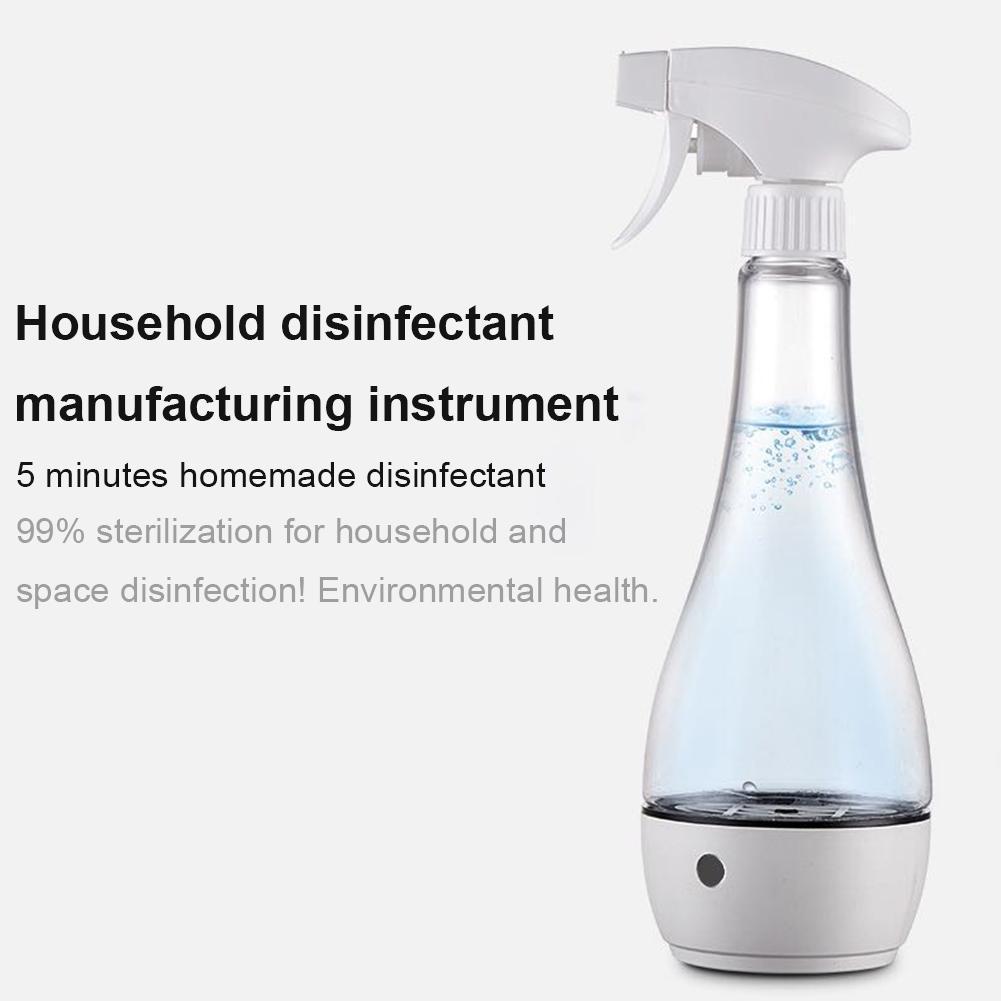 Gerador portátil automanufacturado da solução da limpeza da casa da máquina da água do ácido hypochlorous para a remoção do odor da mancha