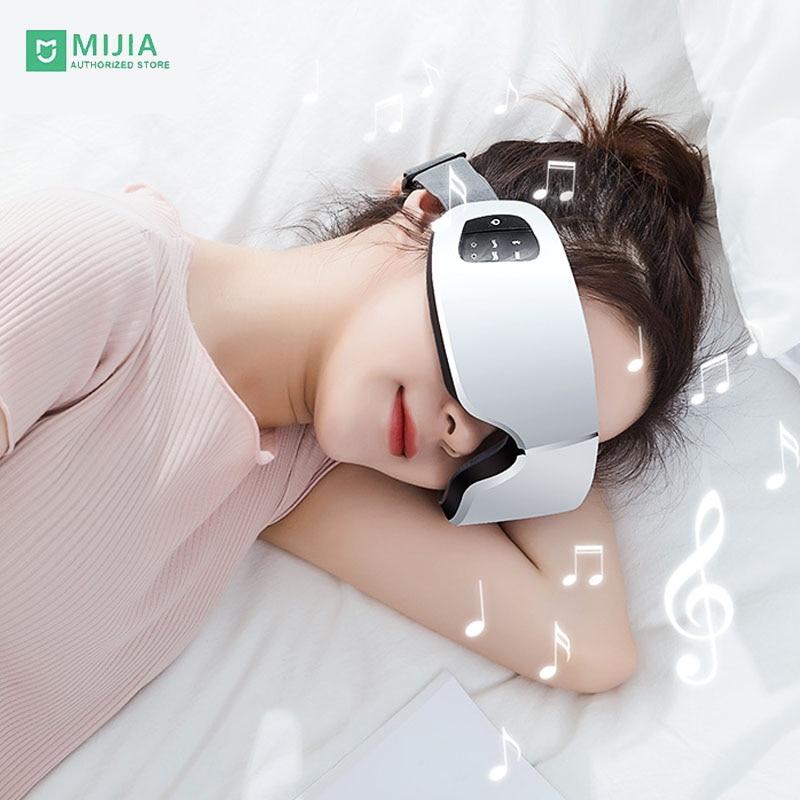 Xiaomi Onefire inteligente Bluetooth máscara de ojos vapor caliente USB frío paquete Control de temperatura ojo cuidado masaje Spa Eye Pat