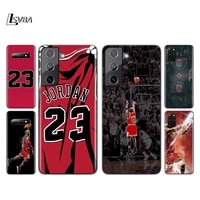 basketball number 23 silicone cover for samsung galaxy s21 s20 fe ultra s10 s10e lite s9 s8 s7 plus phone case
