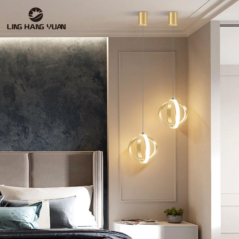 Modern Led Chandelier Luminaires Ceiling  Chandelier Lighting For Bedroom Living room Dining room Bedside Light Hanging Lamp 12W