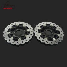 Motorcycle 2pcs Floating Brake Discs Rotor For HONDA CBR250RR NSR250R NSR250RR MC18 MC21 MC28