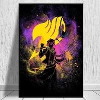 Peinture sur toile dart anime Fire Power  images murales imprimees  decor de maison  affiche murale  decoration pour salon  sans cadre