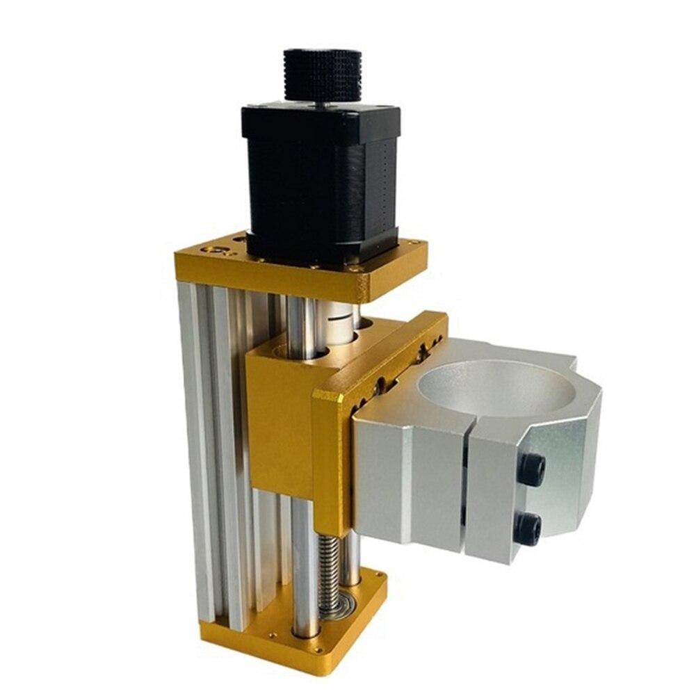 نك الألومنيوم انزلاق الجدول تطبيق Nema17/23 42BYG/57 السائر تطبيق 52 مللي متر المغزل تركيبات T8 النحاس مكافحة رد الفعل الجوز