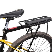 bike rear shelf mtb cycling bicycle rack upgraded bike rack aluminum alloy can bear 50kg luggage rear carrier trunk for bicycles