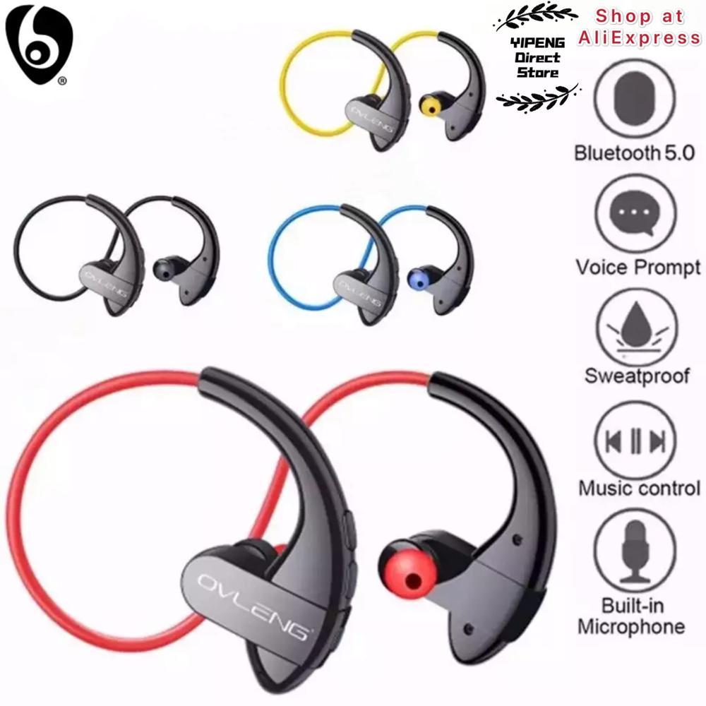 OVLENG S13 Wireless Bluetooth Earphones with Microphone Handsfree for Smart Devices Sport Waterproof Earphone