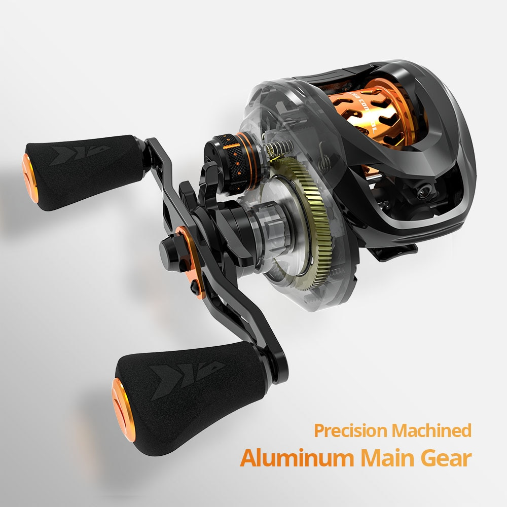 Zephyr Bait Finesse System BFS Baitcasting Fishing Reel  4.5KG 7 Ball Bearings 7.2:1 Gear Ratio Carbon Fishing Coil enlarge