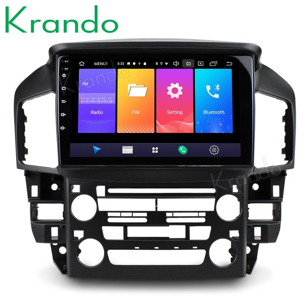 """Krando 2 + 32G Android 9,0 9 """"IPS radio de coche reproductor multimedia de Lexus RX300 1998 ~ 2003 GPS de navegación NO 2din DVD estéreo de coche 4G"""
