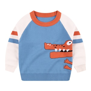 Boys Girl Sweaters Pullover Shirt Tops Jacket Winter Autumn Long Sleeves Toddler Kids Spring Clothes Children's Clothing