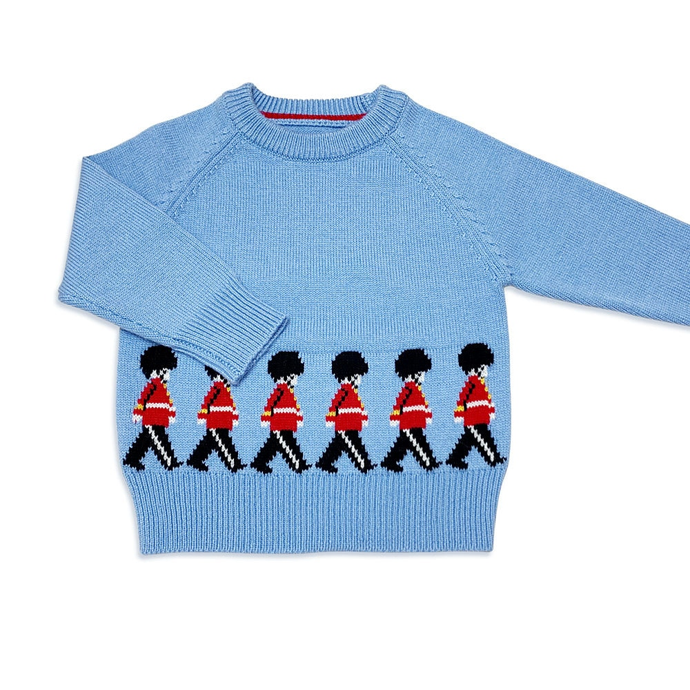 2021 Boys Pullover Sweater Spanish Toddler Baby Knitted Cartoon Sweater Kids Knitting Pullover Top Children Clothes Knitwear  - buy with discount