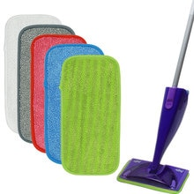 2PCS Compatible with Swiffer WetJet flat mop cloth cover, Velcro mop replacement cloth pad, mop head