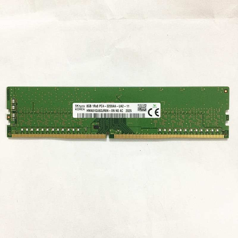 SK هاينكس ddr4 رامس 8GB 1Rx8 PC4-3200AA-UA2-11 DDR4 8GB 3200MHz ذاكرة عشوائيّة للحاسوب المكتبي