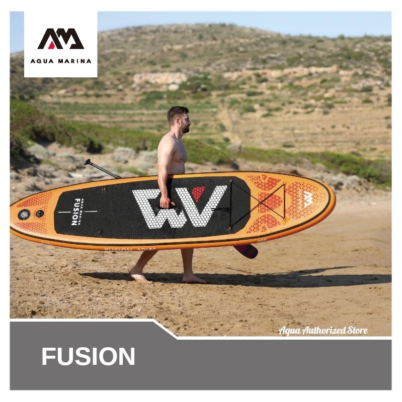 Aqua Marina 2020 fusión stand up paddle Junta sup surfing inflables de agua deporte surf 315x75x15cm