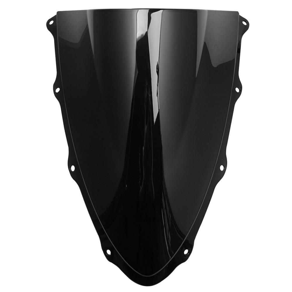 شاشة جديدة للدراجات النارية مصنوعة من الزجاج الامامي مع فقاعة مزدوجة ABS باللون الأسود لدراجات دوكاتي 1299 1299S Panigale 959 2015-2019