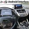Boîte d'interface vidéo de Navigation GPS de voiture Android pour NX NX300 2014-2020 bouton de soutien et commande au volant
