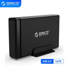 Док-станция ORICO NS, алюминиевый корпус для жесткого диска 3,5 дюйма, USB3.0, макс. ТБ, поддержка UASP 12V2A, корпус для жесткого диска