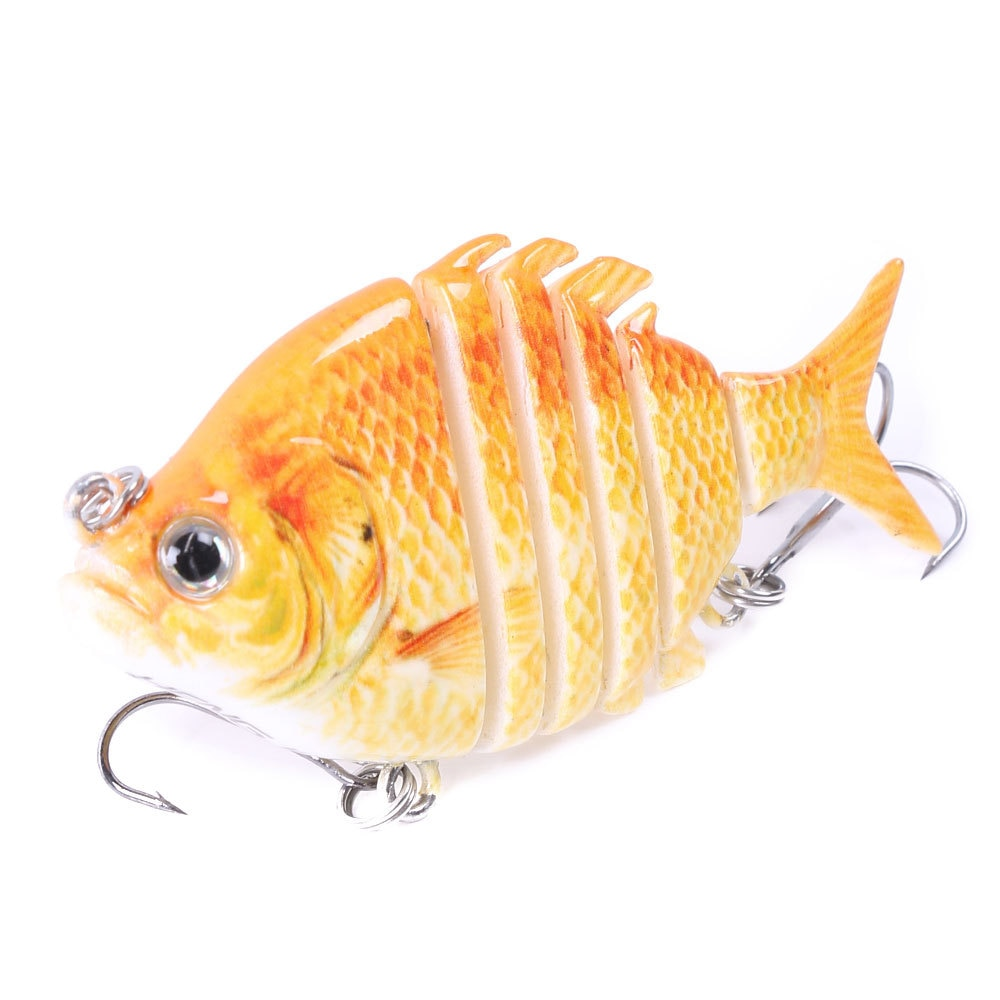 Señuelos de Pesca multiarticulados de 15g, señuelo de pez grande con anzuelo, señuelo duro de Wobblers Swimbait hundido 1 unidad