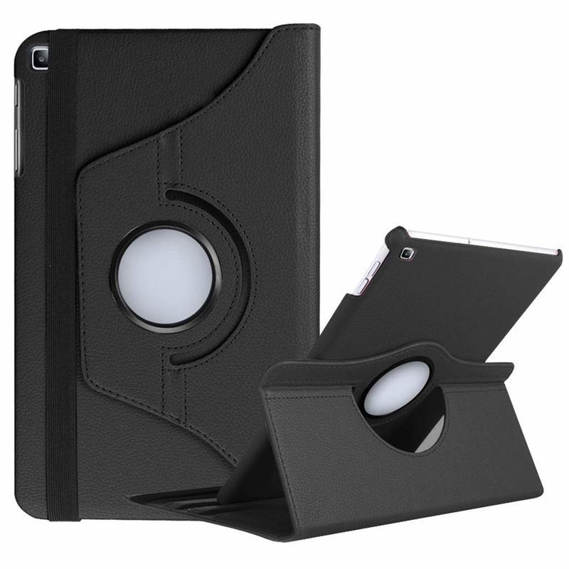 360 giratoria de la cubierta de la caja para Samsung Galaxy Tab A 10,1 de 2019 T510 T515 Flip Stand de cuero de la PU de SM-T510 Wifi SM-T515 LTE Fundas casos