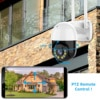 3MP PTZ WIFI IP Camera Outdoor 4X Digital Zoom Night Full Color Wireless H.265 P2P Security CCTV Camera Two Way Speak Audio 9