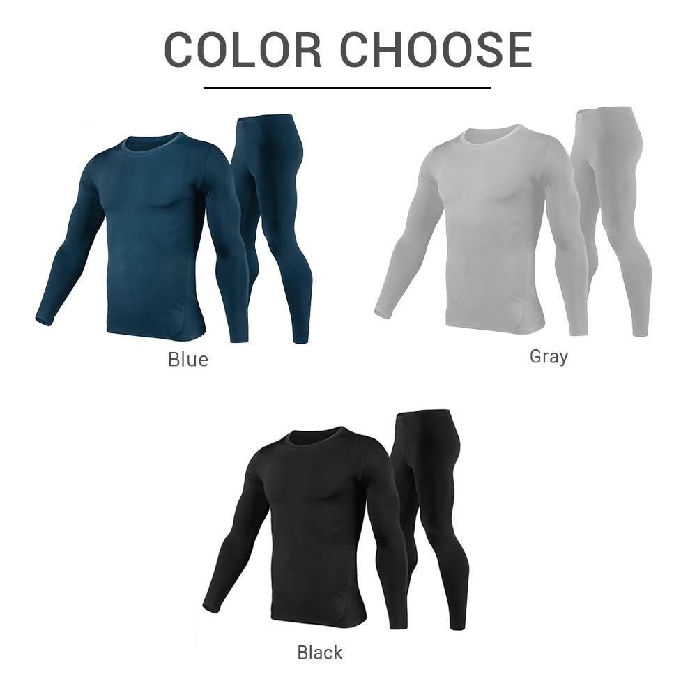 Motorcycle Jacket Winter Moto Jacket +Pants Fleece Lined Thermal Underwear Set Skiing Suit Winter Warm Clothing For Men & Women enlarge