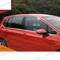 lsrtw2017 304 stainless steel car window trims for volkswagen golf sportsvan GOLF SV 2015 2016 2017 2018 2019 2020 2021