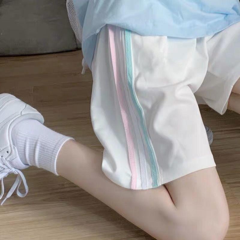 Повседневные Шорты, летние женские шорты, свободные повседневные спортивные шорты в Корейском стиле для школьников, шорты с широкими штани... hope collection повседневные шорты