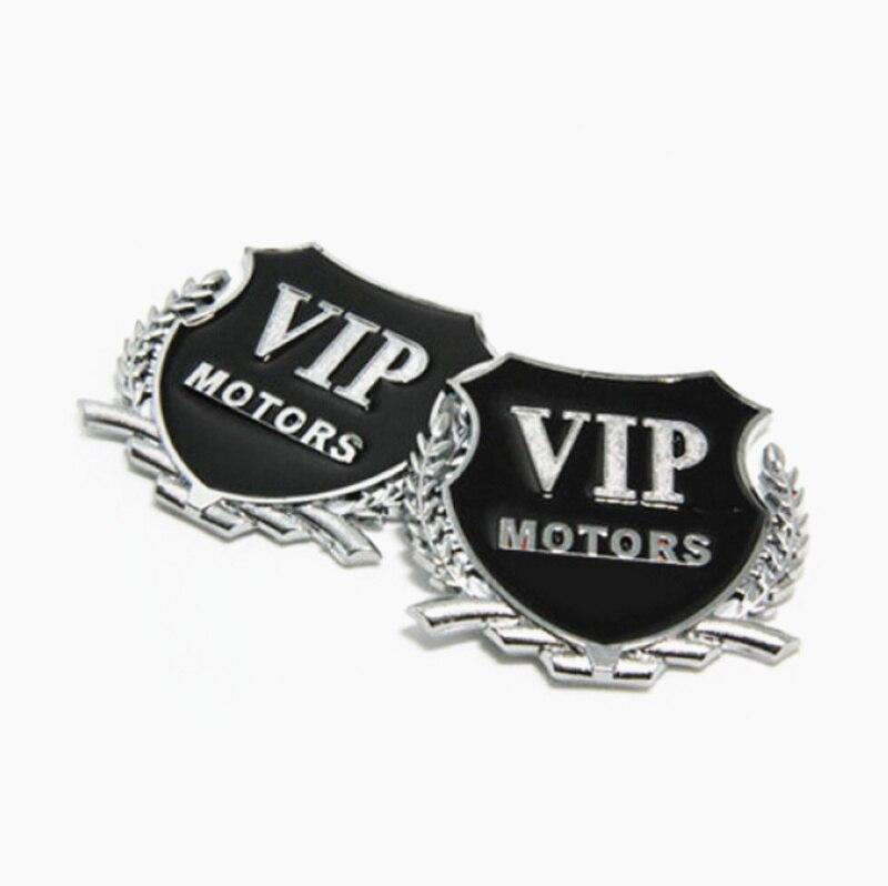 2 uds 3D Metal motor VIP pegatina emblema para el coche para BMW F13 G11 G12 F01 F02 F87 F80 F83 F82 F90 F10M F13M F12M M8 Z4 E89