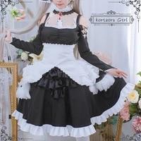 azur lane cos hms formidable maid anime woman fashion costume full set dress hairpin bow neck ornament socks cosplay