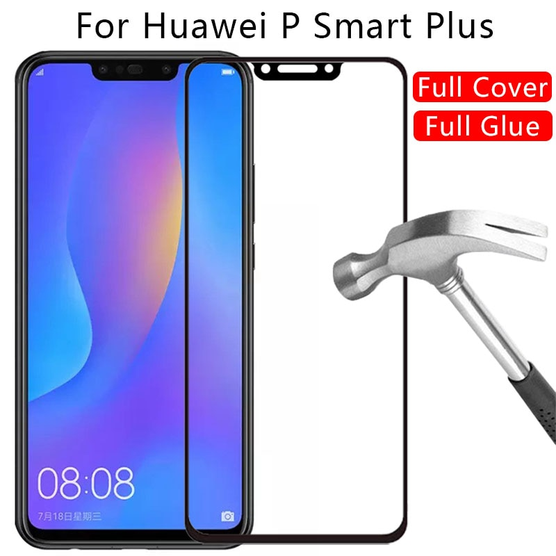protective-glass-for-huawei-p-smart-plus-2018-screen-protector-tempered-glas-on-psmart-smar-smat-63-film-hawei-huwei-huawey-3d