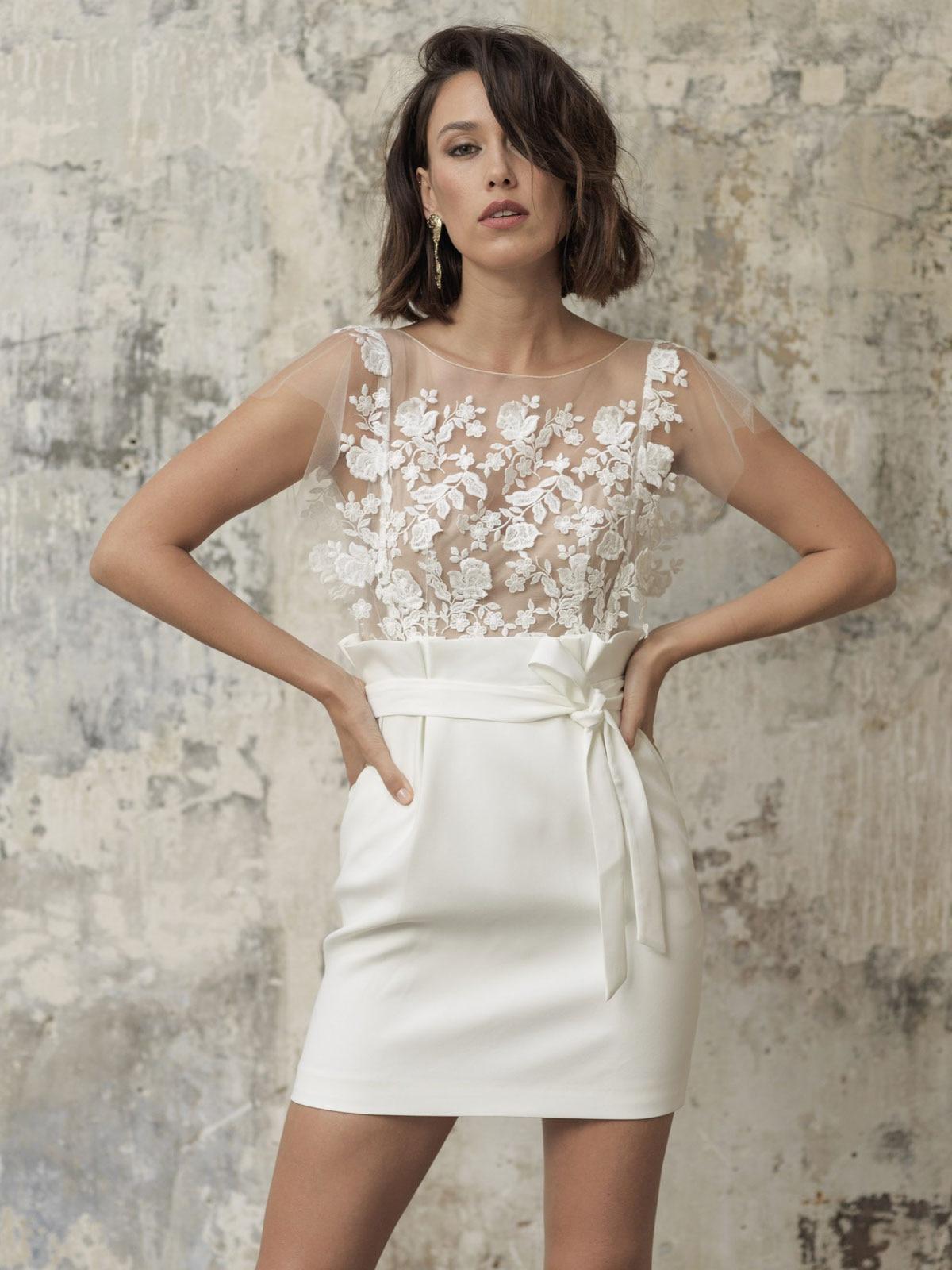 Короткое свадебное платье, дешевые свадебные платья