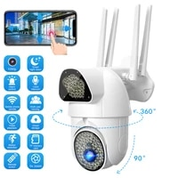 1080p HD Smart Camera Webcam WiFi Night Vision 360   Tracking IP66 Waterproof Home Security Surveillance Voice Intercom Webcam