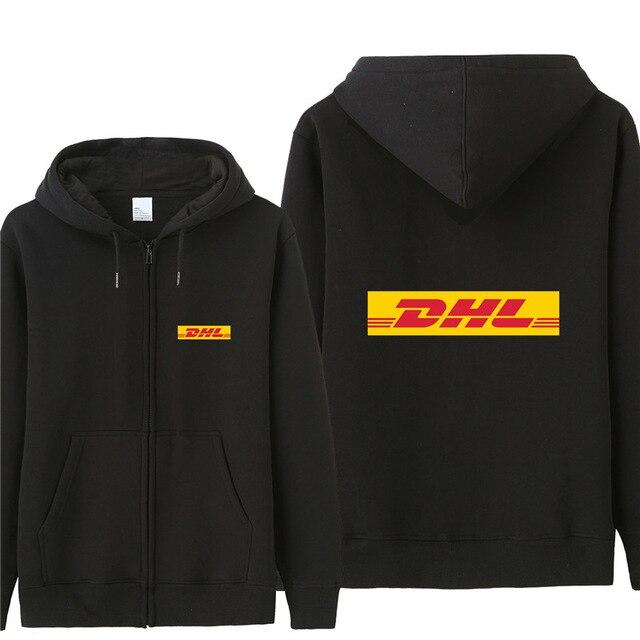2020 New DHL Sweatshirt Hoodies Men Autumn Coat Pullover Fleece Jacket Unisex Man DHL Sweatshirts H
