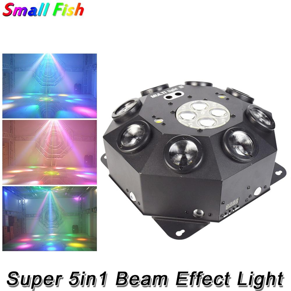 2021 Super 5in1 Effect Lights Disco RG Laser Light DMX512 Party Show Beam Strobe Light For DJ Banquet Indoor Bar KTV Christmas