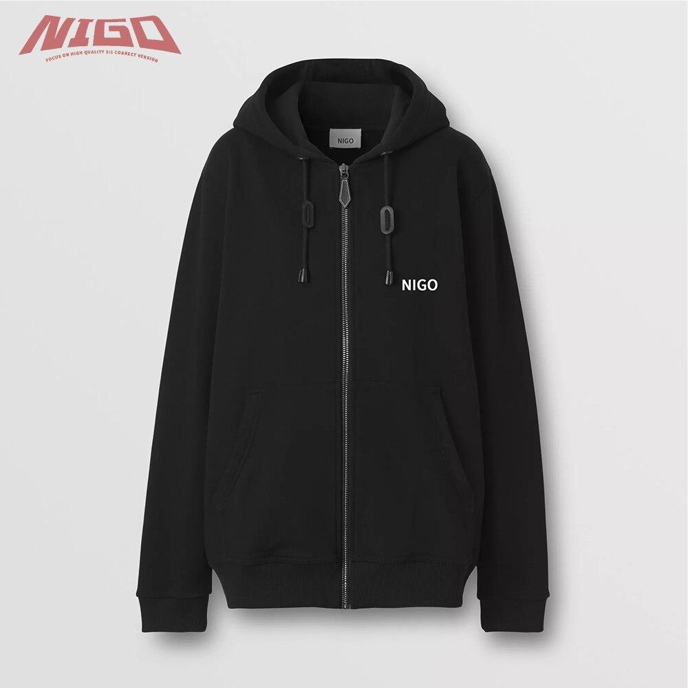 NIGO Ms 21ss хлопковое пальто с капюшоном # nigo55649