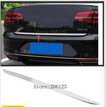Couvercle de porte de coffre arrière   Pour VW PASSAT B8 2017 2018 coffre arrière coffre de hayon, couvercle de porte arrière, lunette de couvercle, style de la bande de garniture