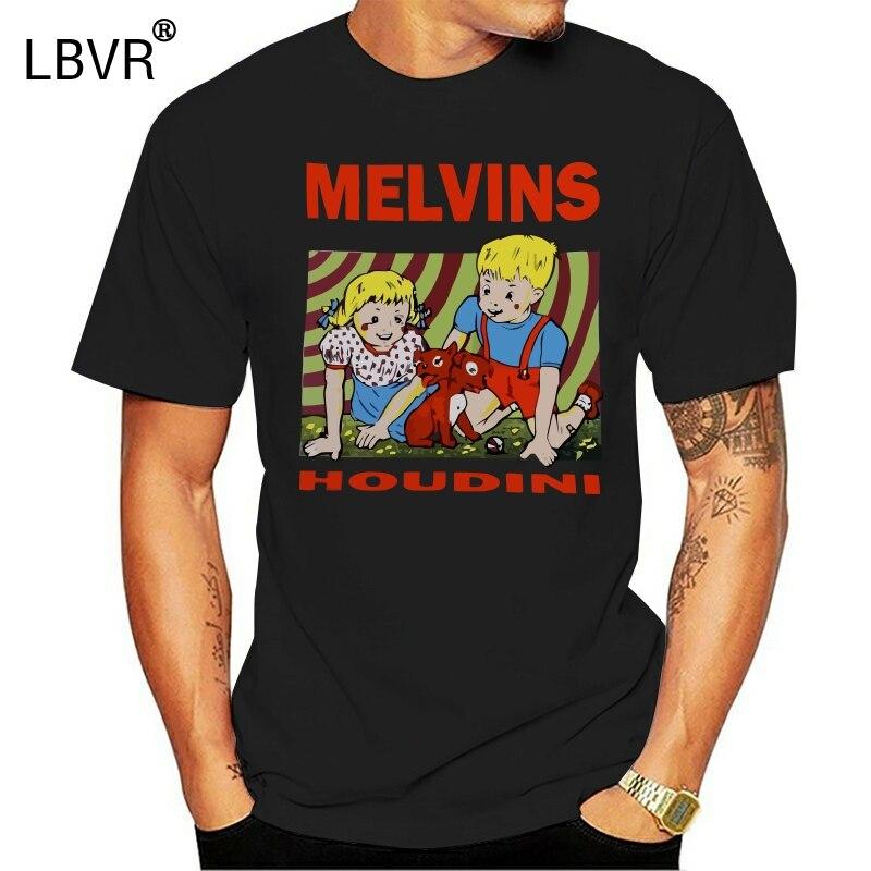 MELVINS HOUDINI SLUDGE METAL STONER ROCK FANTOMAS NATURAL COLOR T-SHIRT Summer Tee Tshirt