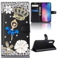 girls flip bling case for samsung galaxy a51 2019 a515f 6 5 case a91 a81 a71 a51 a70 a50 a60 wallet leather bag soft tpu case