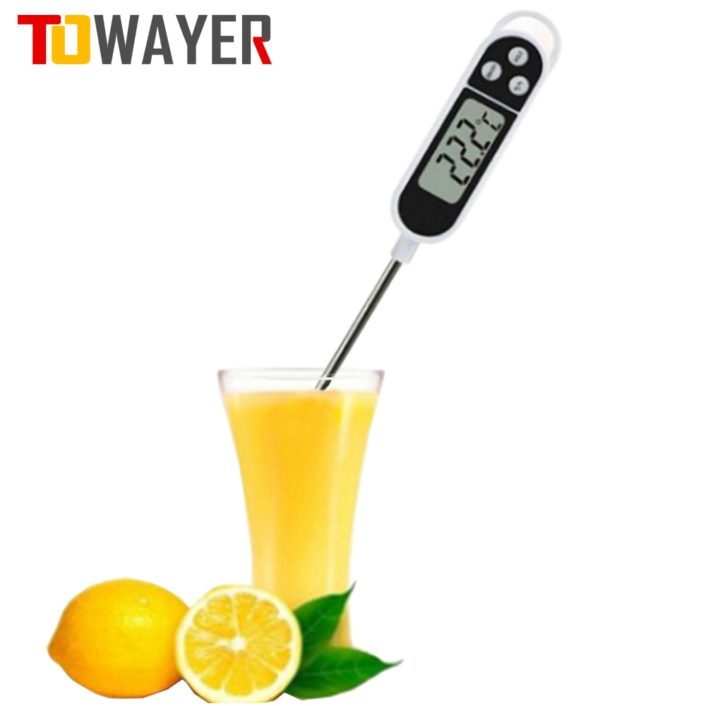 kitchen digital bbq thermometer electronic cooking food thermometer probe water milk oven meat thermometer tools Food thermometer For Kitchen Thermometer For Meat Water Milk Cooking Food Probe BBQ Electronic Oven Digital Thermometer Tools