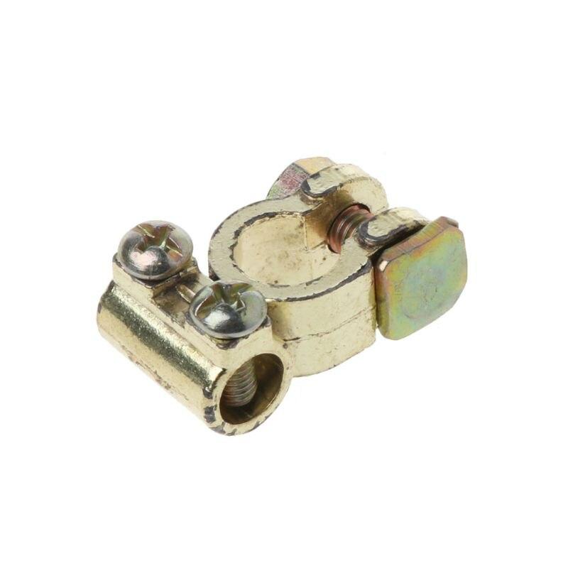 1 пара сплава клеммы автомобильного аккумулятора зажимы винтовые зажимы положительные и отрицательные зажим P82B