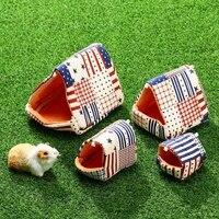 1pcs household small pet cotton nest hamster nest hedgehog squirrel guinea pig golden silk bear nest pet supplies s27