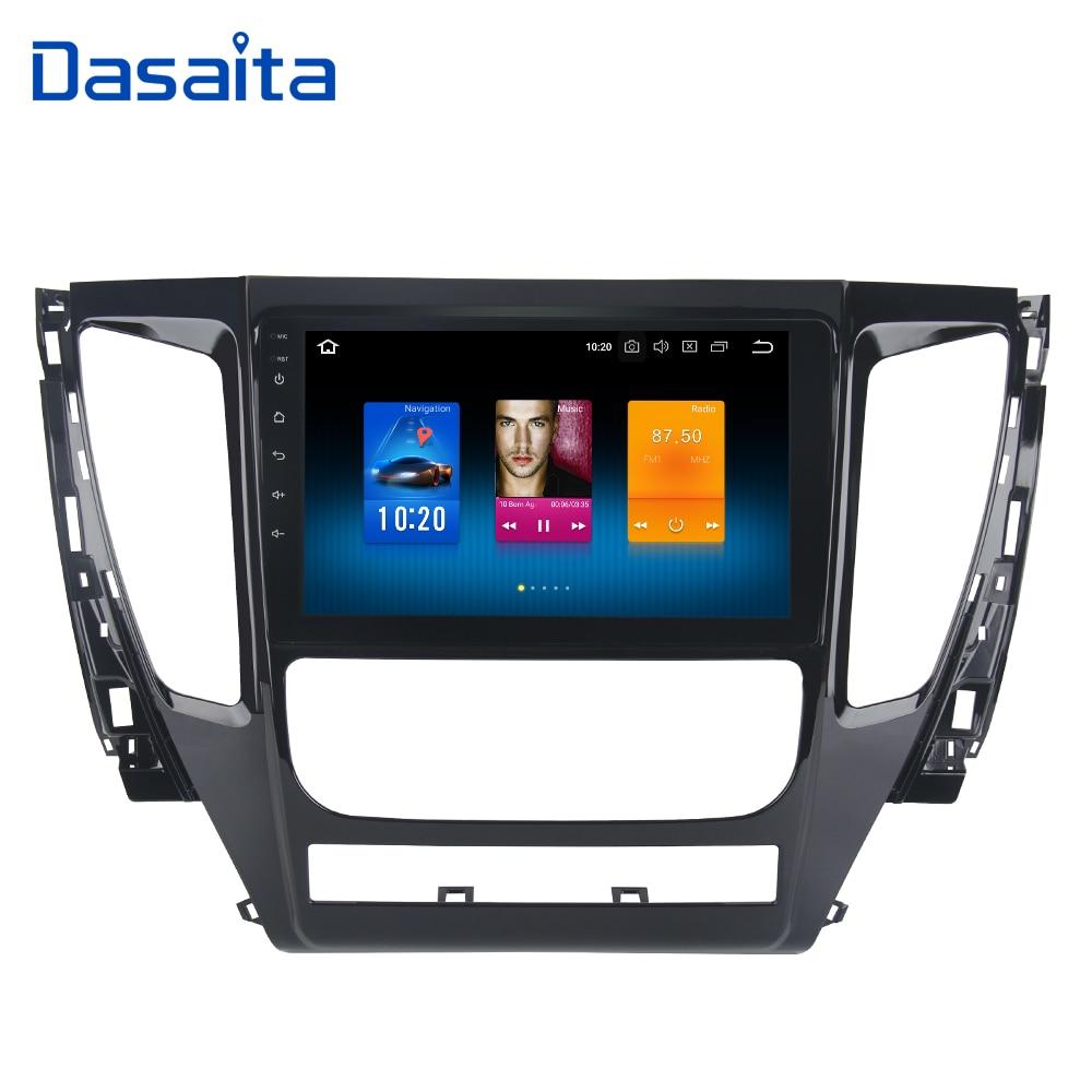"""Dasaita 9"""" Android 9.0 Car GPS Radio Player for Mitsubishi Pajero Sport 2017 with Octa Core 4GB+32GB Auto Stereo Multimedia"""