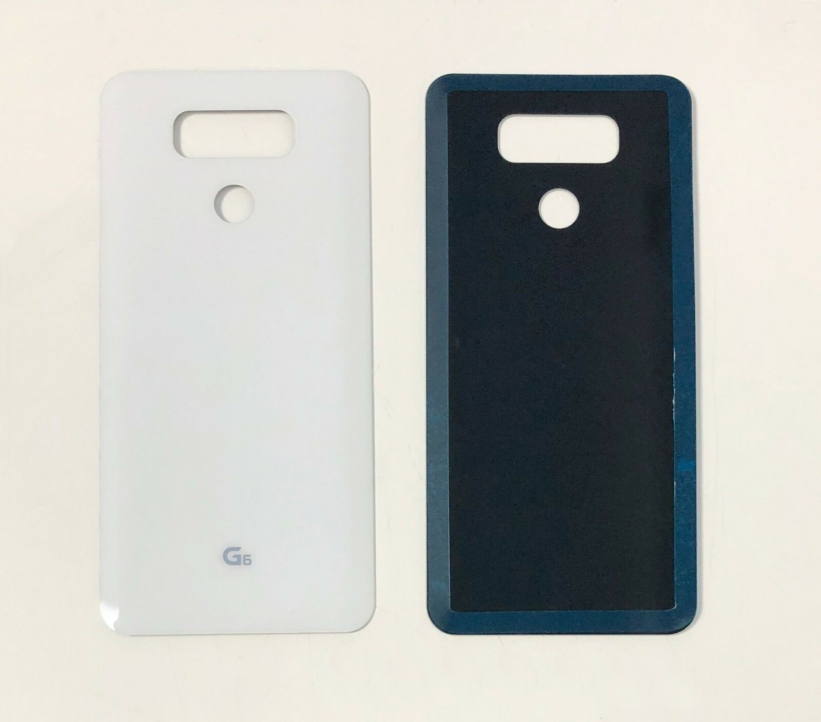 Replacement LG G6 H870 H871 Rear Back Glass Battery Door Cover With Adhesive enlarge