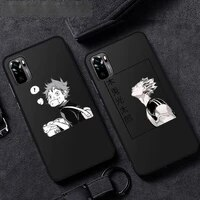 haikyuu japanese anime manga phone case for xiaomi mi redmi note 7 8 9 pro 8t 9t 9s 9a 10 lite pro