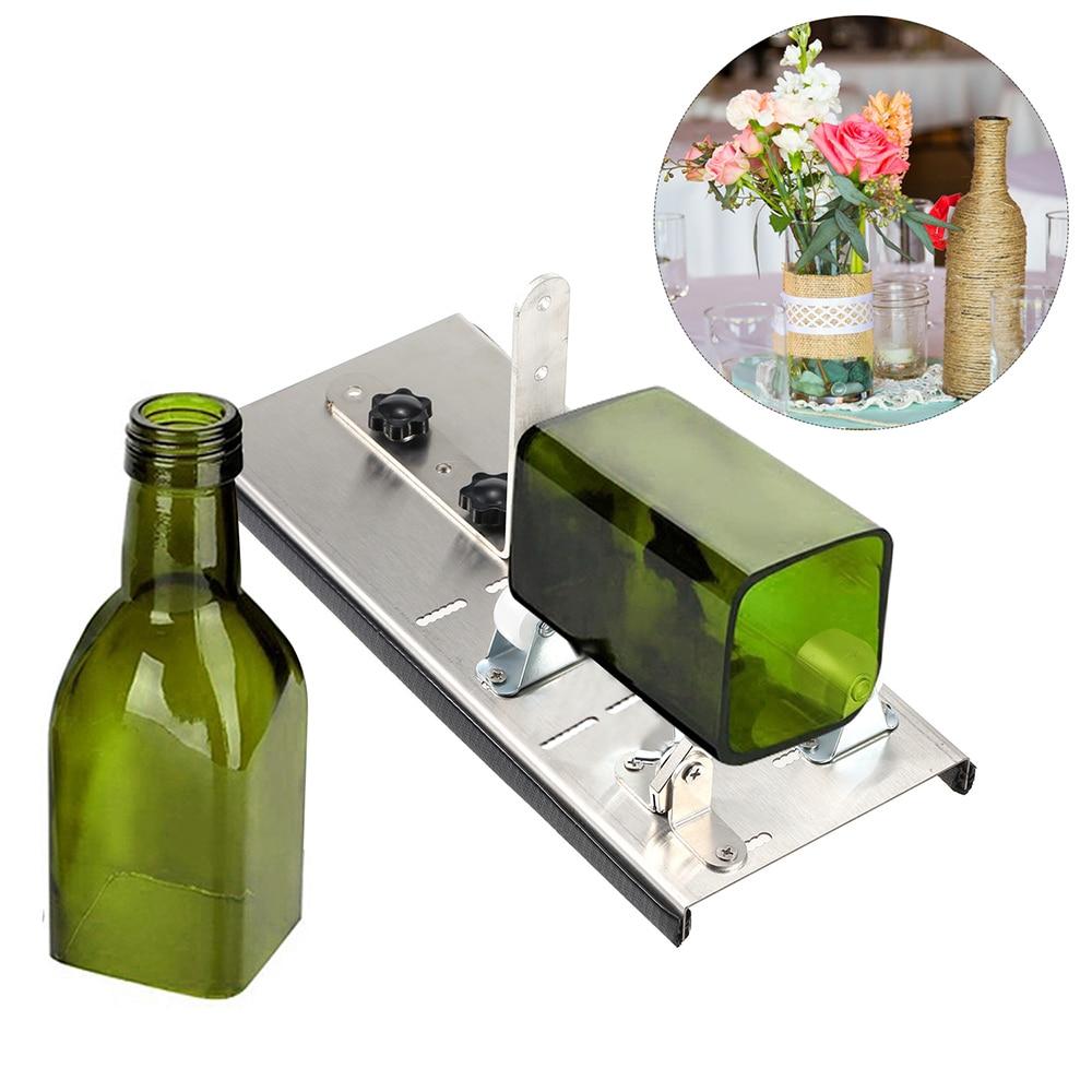 Резак для стеклянных бутылок из нержавеющей стали с 3 колесами инструмент резки