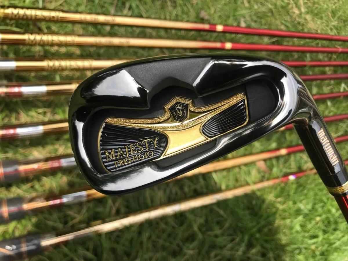 New Golf clubs Maruman Majesty Prestigio 9 Golf irons 5-10 P.A.S Irons clubs Graphite shaft R/S flex head cover