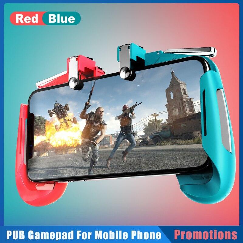 1pc PUBG Mobile Gamepad Joystick Gaming Joystick Stretchable Trigger Fire Button L1R1 Shooter Game C